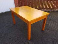 Oak Veneer Dining Table 137CM FREE DELIVERY 515