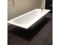 Iron bath, 170cm-69 cm, used but in good condition