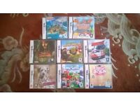 Collection of 8 Nintendo DS games £20