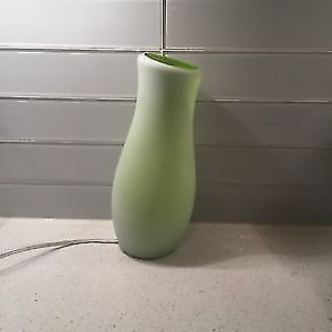 Green lamp great condition