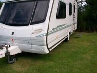 abbey vogue gts 4 berth end dressing shower room 2 owners from new immaculate condition