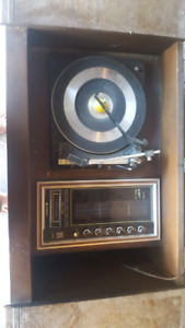 Antique  stereo cassette 8 track player