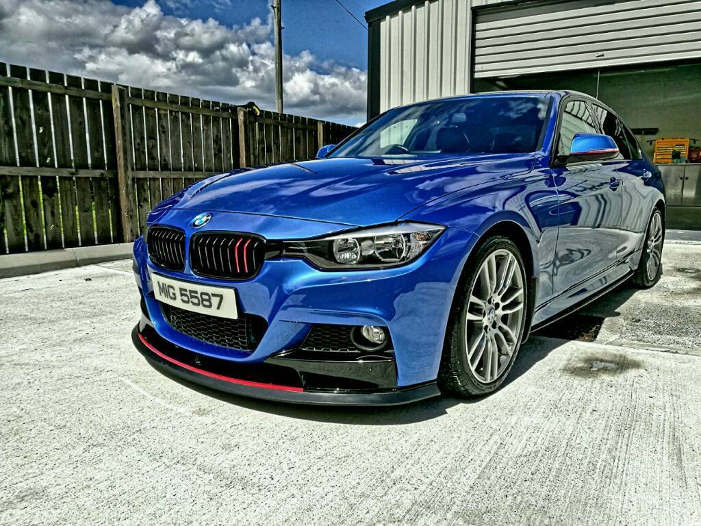bmw f30 320d m sport absolutely stunning not 520d in dromore county down gumtree. Black Bedroom Furniture Sets. Home Design Ideas