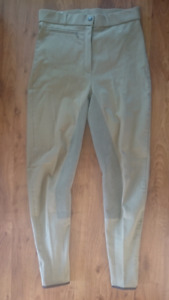 NWT Trainer's Choice Cotton Full Seat Breeches