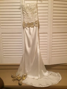 Wedding Dress with matching Shoes