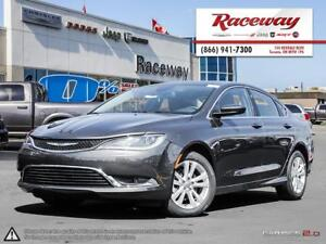 2016 Chrysler 200 LIMITED   8.4' TOUCHSCREEN   BACK-UP CAMERA  
