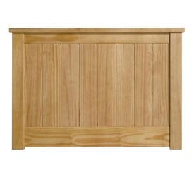 Grafton Single Headboard - Oak Stain.
