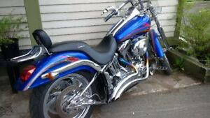 Harley Davidson . Softtail,, lots of chrome, awesome Wheels,
