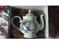 Beautiful Alice in wonderland teapot brand new in box from whittard of London
