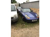 porsche boxster been standing runs drives well