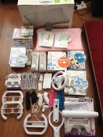 Wii console and all accessories