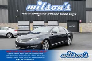 2013 Lincoln MKZ AWD NAVIGATION! PANORAMIC SUNROOF! RESERVE PKG!
