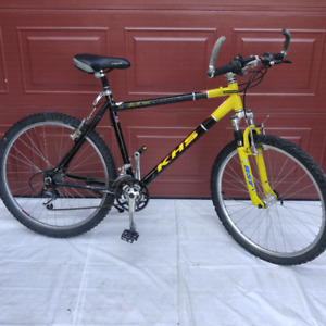 """KHS HIGH QUALITY MOUNTAIN BIKE EXCELLENT CONDITION 26"""" tires"""