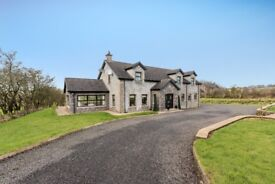 £1500 p/m 5 Bed, furnished, short lease only, Ballyclare. Impressive Home. Pets welcome.