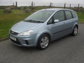 Ford C-MAX 1.6 16v 100 2007.5MY Style 74500 Mls MOT 17/4/18 2 Keys
