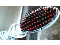 hair straitening brush
