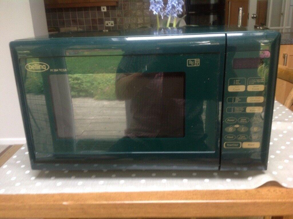 Belling 850 Watt Dark Green Microwave Oven