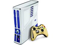 Star Wars Xbox 360 Console with Kinect and games