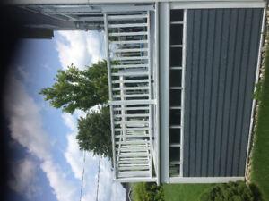 Balcon en fibre de verre