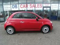 FIAT 500 1.2 C LOUNGE 3d 69 BHP (red) 2010