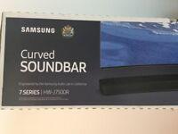 Samsung 7 Series HW-J7500R sound bar - New in box