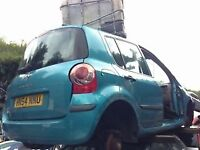 RENAULT MODUS 2004 1.4 PETROL 5DR METALLIC BLUE BREAKING FOR SPARES