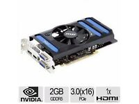 MSI GeForce GTX 660 graphic card