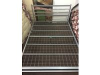 king size metal Bed frame very strong £30