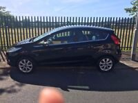 Black Fiesta Diesel Fuel Efficient, £20 per year tax, Excellent condition, comes with MOT