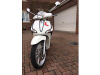 Piaggio Liberty 125 Scooter Design 2016 66 Plate ABS