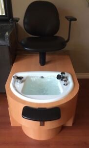 Whirlpool pedicure chair