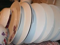 Basic Kitchen Crockery Bundle - Plates, Bowls, Mugs, Cup and more