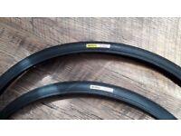 MAVIC Yksion Pro Griplink - front/ Powerlink - rear, 700 x 25c, 2 x tyres, brand new
