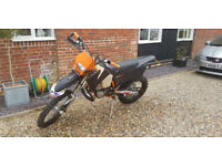 Road Registered 2004 KTM 300 EXC Enduro Bike Recent Rebuild / Frame Powdercoat / Lots of History