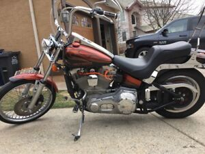 Harley-Davidson Softail with brand new engine!