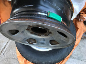 Ford 2008 factory rims with sensors of f-350 set 4