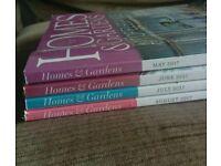 Home & Gardens magazines