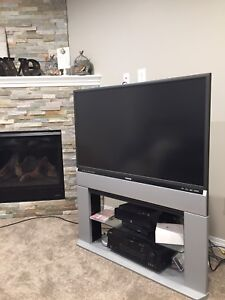 Toshiba HD 44 inch TV and stand