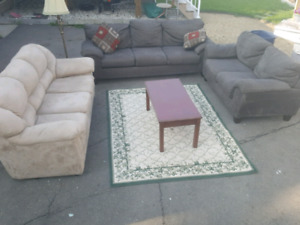 LIVING ROOM SET.  DELIVERY IS EXTRA