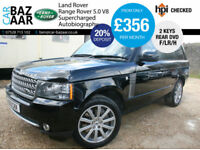 Land Rover Range Rover 5.0 V8 Supercharged auto Autobiography+F/LR/H+REAR DVD+