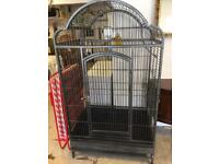 Large strong heavy Bird cage