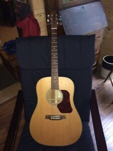 Acoustic Guitar with case $125
