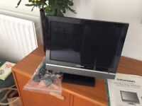 TELIVISION , 12'' (GRUNDIG) FREEVIEW DIGITAL TFT LCD TV