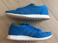 Boys Adidas Ortholite Los Angeles Trainers Size 3