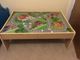 ELC wooden city play table