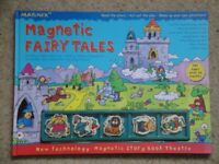 Magnetic Fairy Tales Book with playing pieces