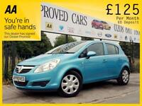 VAUXHALL CORSA 1.4 EXCLUSIV 5d AUTO 98 BHP Been Refused Credit Be (blue) 2011