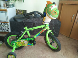 "Apollo Marvin The Monkey.Toddlers/ children 1st bicycle.12""wheels"