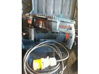 For Sale Bosch hammer drill professionals 110volts in carry case in good working order