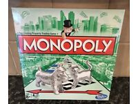 Monopoly Original Classic Board Game New & Sealed